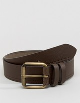 Ben Sherman Casual Roller Jeans Leather Belt