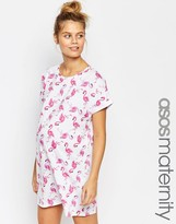 Asos Flamingo Pajama Nightie