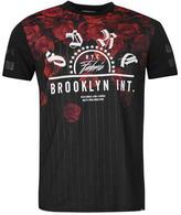 Fabric Pin Rose T Shirt Mens