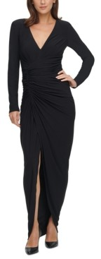 Vince Camuto Ruched Gown