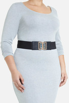 Fashion to Figure Stone Clasp Stretch Belt