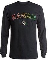 Quiksilver Men's Eddie Aloha Long Sleeve T-Shirt