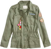 Jessica Simpson Emilia Utility Jacket, Big Girls
