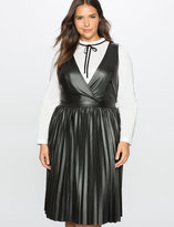 Plus Size Leather Dress - ShopStyle