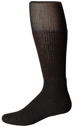 Thorlos Work Over Calf Single Pair (White) Crew Cut Socks Shoes