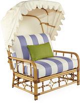 Lane Venture Mimi Cuddle Chair & Canopy, Periwinkle