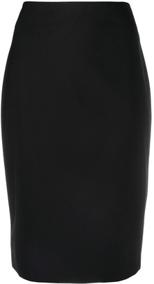 Theory Fitted Pencil Skirt