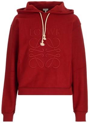 Loewe Anagram Embroidered Hoodie