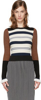 Opening Ceremony Multicolor Striped Pullover