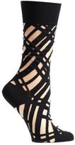 Ozone Women's Diagonal Sheer Socks