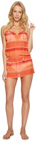 Polo Ralph Lauren Playa Stripe High Neck Dress Cover-Up Women's Swimwear