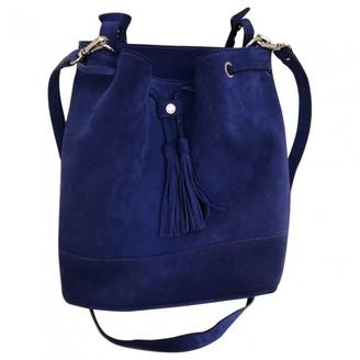 Sandro Blue Suede Handbags