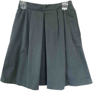 A.P.C. Green Cotton Skirts