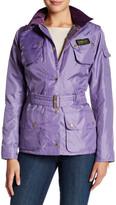Barbour Lavender Waist Belt Jacket
