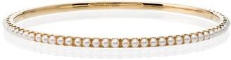 Rosa de la Cruz 18k Yellow Gold Pearl Bracelet