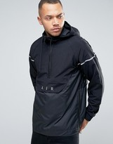Nike Air Half Zip With Logo In Black 832156-010