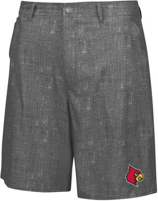 Colosseum Men's Charcoal Louisville Cardinals Match Play Shorts