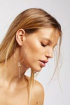 Free People Charming Drop Hoops