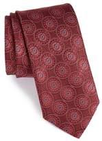 Canali Men's Medallion Silk Tie