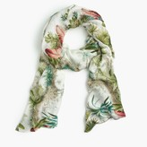 J.Crew Pierre FreyTM for scarf in in Alexandrie print