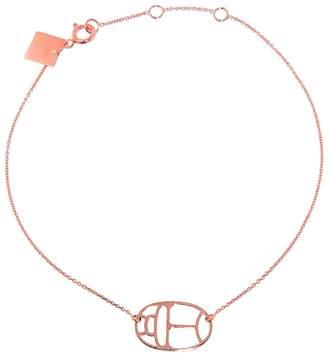 ginette_ny Scarab Wish Bracelet - Rose Gold