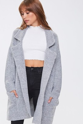 Forever 21 Open-Front Cardigan Sweater
