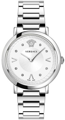 Versace Pop Chic Lady Stainless Steel Analog Bracelet Watch