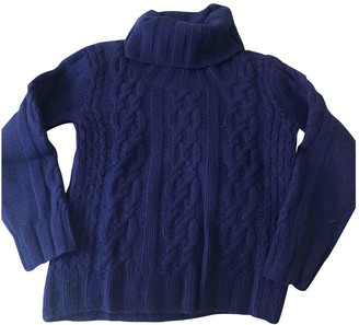 Tommy Hilfiger Blue Cashmere Knitwear for Women