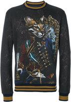 Dolce & Gabbana Royal Pet Portrait sweatshirt