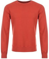 Nudie Jeans Sven Rugged Sweatshirt Red