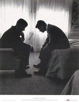 Rob-ert Art Poster Print - John F. Kennedy & Robert Kennedy - Artist: Hank Walker - Poster Size: 22 X 28 inches