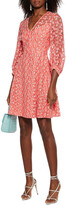 Thumbnail for your product : Lela Rose Embroidered Tulle Dress