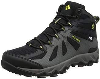 Columbia Men's Peakfreak XCRSN Ii Xcel Mid Outdry High Rise Hiking Boots (Black/Zour), 48 EU