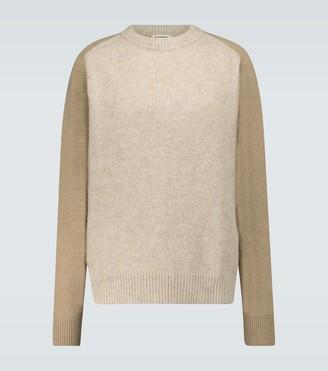 Jil Sander Raglan-sleeved crewneck sweater