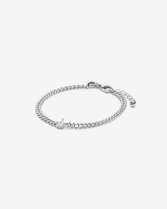 Express Single Stone Chain Bracelet