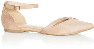 City Chic Joelle Flat - sand