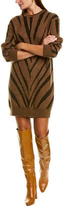 Max Mara Austin Mohair & Wool-Blend Sweaterdress