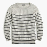 J.Crew Tippi sweater in metallic stripe