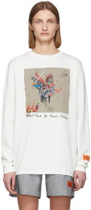 Heron Preston Off-White Robert Nava Painting Long Sleeve T-Shirt