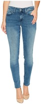 Mavi Jeans Adriana Mid-Rise Super Skinny in Light Foggy Blue Tribeca Women's Jeans