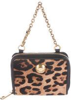 Dolce & Gabbana Ponyhair Compact Wallet