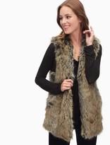 Splendid Westhaven Faux Fur Vest