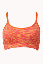 Forever 21 low impact - space dye sports bra