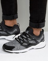 Reebok Fury Adapt Sneakers In Black AR2625
