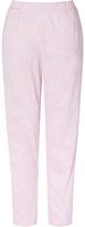 John Lewis Martha Jersey Pyjama Bottoms, Pink/White