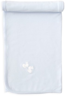 Kissy Kissy Baby Boy's Pique Baby Bunny Cotton Blanket