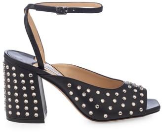 Jimmy Choo Jassidy Embellished Leather Sandals