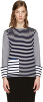 Stella McCartney Navy Striped T-Shirt