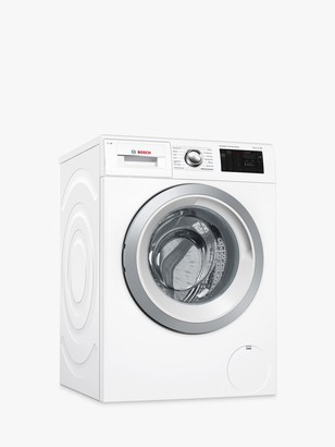 Bosch WAT286H0GB Freestanding Washing Machine, 9kg Load, A+++ Energy Rating, 1400rpm Spin, White