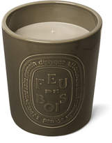 Diptyque Feu De Bois Indoor & Outdoor Scented Candle, 1500g - Green